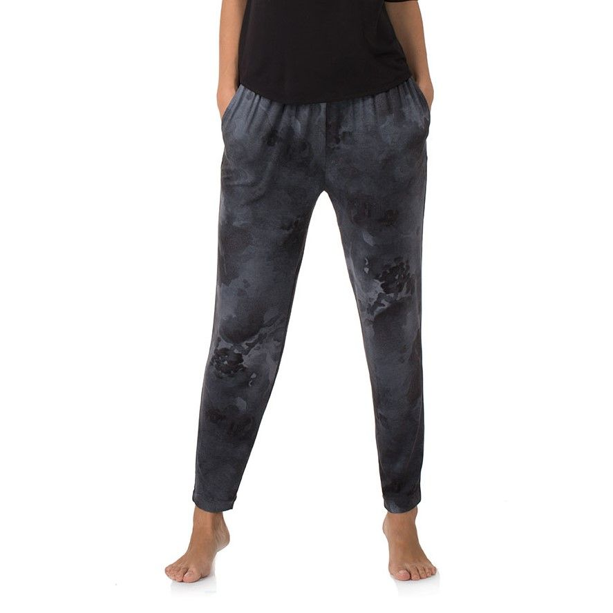DKNY Cropped  Lounge Pant - Distressed Floral