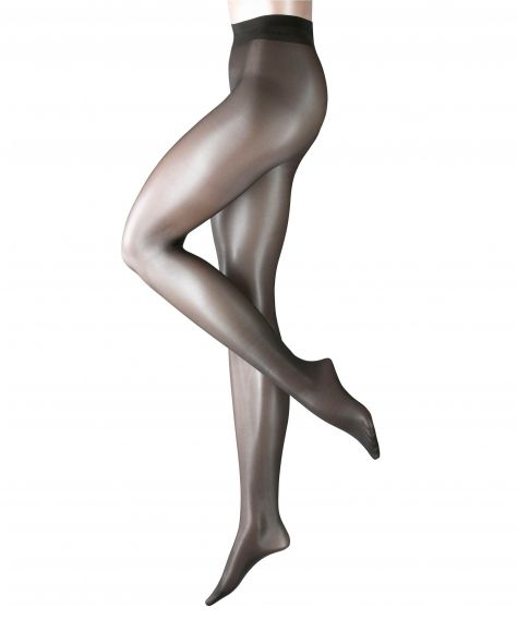 Falke Seidenglatt 15 Den Tights - Anthracite