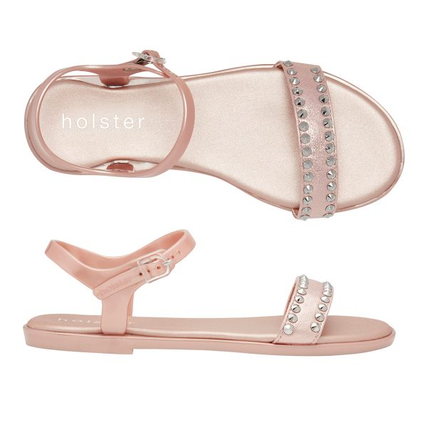 Holster Phoenix Sandals - Rose Gold