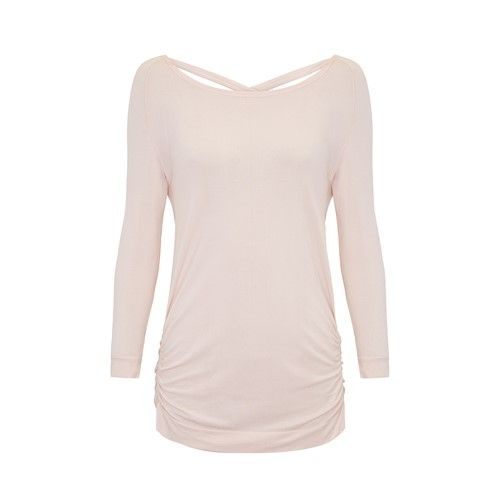 Jilla Free As Can Be Bamboo Top - Soft Pink