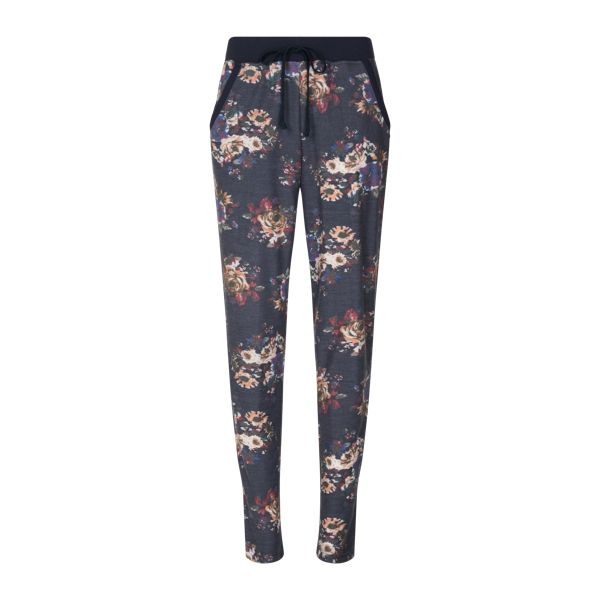 Lingadore Fleur Jogging Sweat Pants - Flower Print