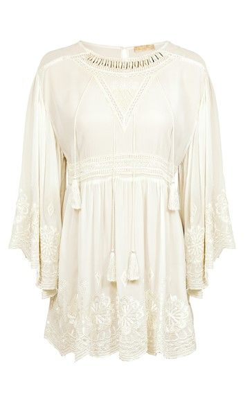 Watercult Hippy Heaven Tunic - Vanilla Ice