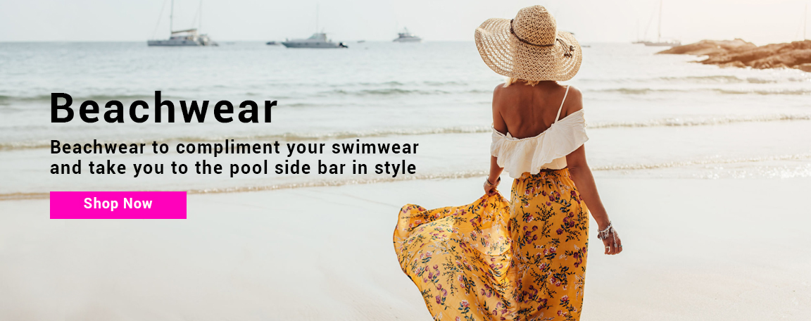 Beachwear to compliment your swimwear