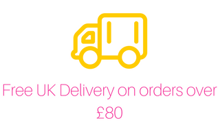 FREE UK delivery on orders over £80.00